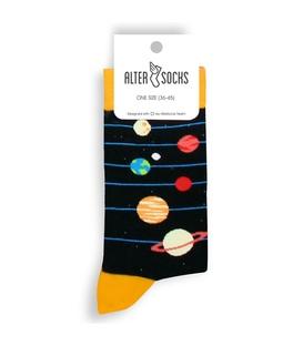 جوراب Alter Socks طرح سیاره مشکی