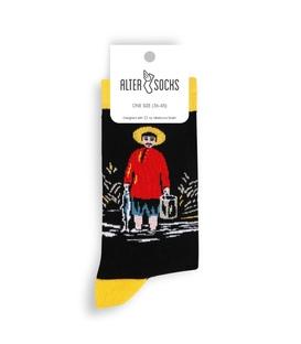 جوراب Alter Socks طرح ماهیگیر پیروسمانی