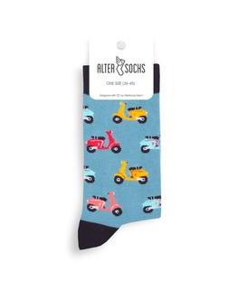 جوراب Alter Socks طرح اسکوتر