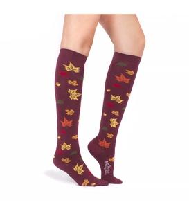 جوراب زیر زانو Alter Socks طرح برگ های پاییزی
