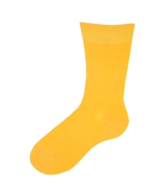 جوراب نانو ساق بلند پاآرا زرد