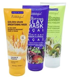 پکیج ماسک صورت Freeman مخصوص پوست های خشک - حجم 175 میلی لیتر