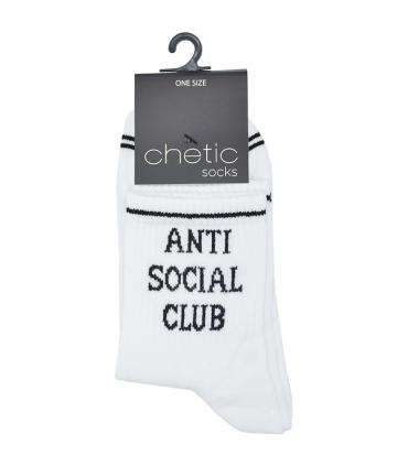 جوراب Chetic طرح Anti Social Club