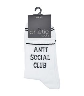 جوراب نیم ساق Chetic چتیک طرح Anti Social Club