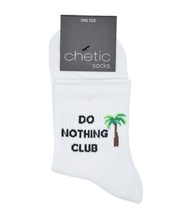 جوراب نیم ساق Chetic چتیک طرح Do Nothing Club