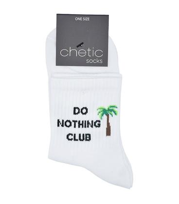 جوراب Chetic طرح Do Nothing Club