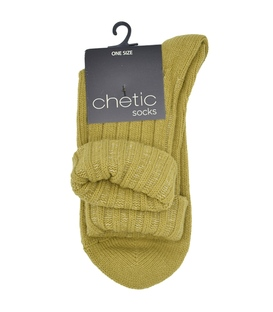 جوراب بافت Chetic چتیک خردلی