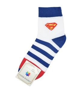جوراب نیم ساق طرح Superman