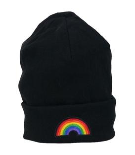 کلاه طرح Rainbow مشکی