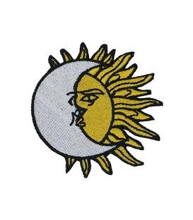 پچ حرارتی طرح Sun & Moon مشکی