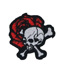 پچ حرارتی طرح Skull & Rose