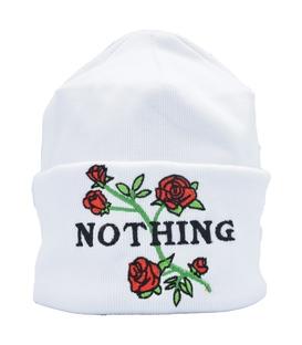 کلاه طرح Nothing سفید