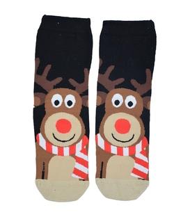 جوراب نیم ساق طرح گوزن کریسمس
