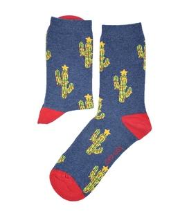 جوراب ساق دار Chetic چتیک کاکتوس کریسمس سرمهای
