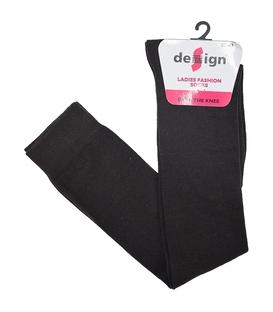 جوراب بالای زانو دیزاین قهوهای