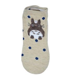 جوراب قوزکی طرح خرگوش توتورو کرم
