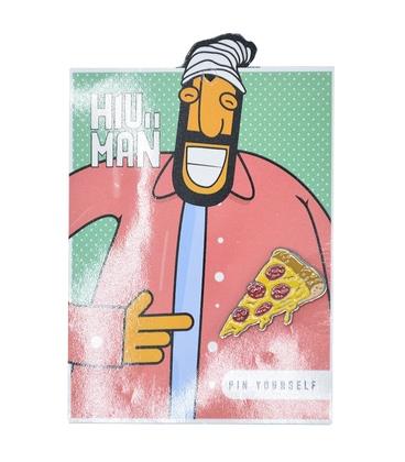 پین Hiuman طرح پیتزا