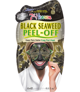 ماسک صورت Peel-Off جلبک سیاه مونته ژنه مدل 7th heaven حجم 10 میلی لیتر