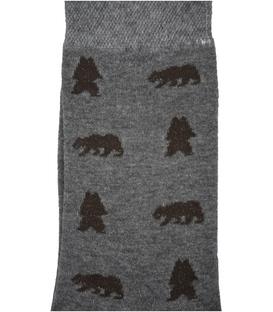 جوراب ساقدار Conoro طرح خرس خاکستری