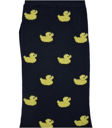 جوراب ساقدار Conoro طرح جوجه اردک سرمهای