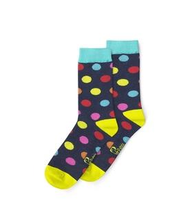 جوراب ساقدار نانو پاتریس طرح توپی رنگی