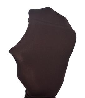 جوراب شلواری پریزن طرح ساده قهوهای 70