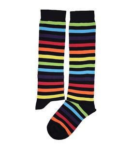 جوراب زیر زانو Conoro طرح راه راه رنگارنگ