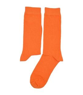 جوراب ساقدار هپی و مپی طرح دار نارنجی