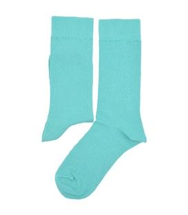 جوراب ساق دار هپی و مپی طرح دار سبزآبی