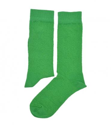 جوراب ساق دار هپی و مپی طرح دار سبز