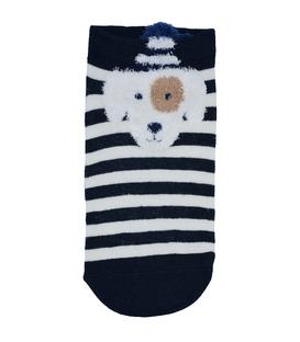 جوراب قوزکی طرح سگ ملوان سرمهای