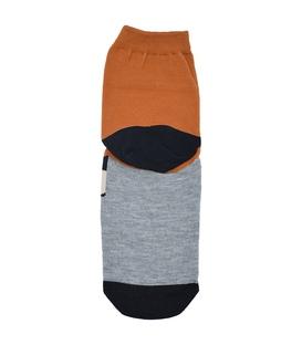 جوراب نیم ساق عروسکی طرح کابوی قهوهای