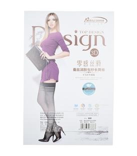 جوراب بالای زانو دیزاین طرح سه خط
