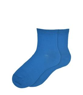 جوراب نیم ساق ساده آبی نفتی