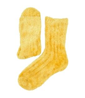 جوراب ساقدار Chetic چتیک خز دار زرد