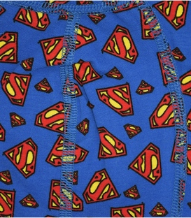 شورت مردانه Gross نیم پا کش پهن طرح سوپرمن آبی قرمز