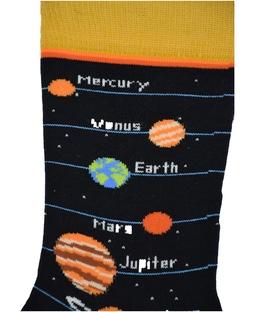 جوراب ساق دار Chetic طرح منظومه شمسی مشکی