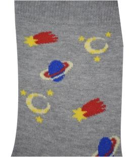 جوراب ساق دار Chetic طرح کهکشان خاکستری