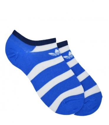جوراب adidas آدیداس مچی راه راه آبی سفید