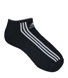 جوراب adidas آدیداس مچی کف حولهای سه خط بلند مشکی