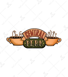 استیکر LooLoo طرح Central Perk