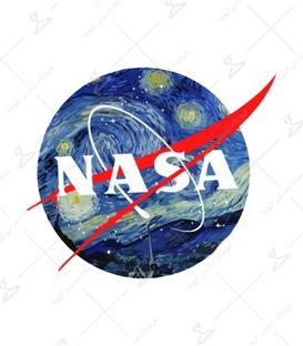 استیکر LooLoo طرح شب پرستاره ونگوگ و ناسا