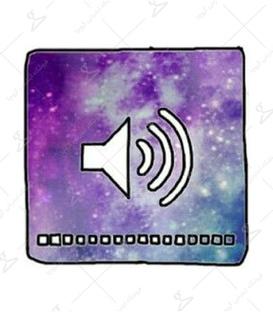استیکر LooLoo طرح صدای کهکشان