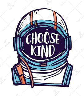 استیکر LooLoo طرح فضانورد مهربان