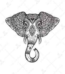 استیکر LooLoo طرح سر فیل
