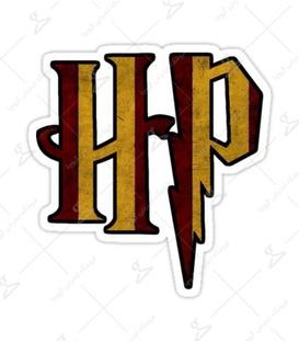 استیکر LooLoo طرح نشان هری پاتر HP