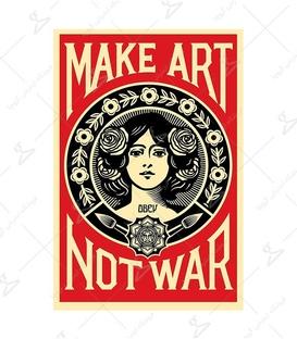 استیکر LooLoo طرح Not War