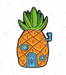 استیکر LooLoo طرح خانه آناناسی