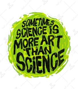 استیکر LooLoo طرح Science