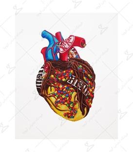 استیکر LooLoo طرح عاشق شکلات